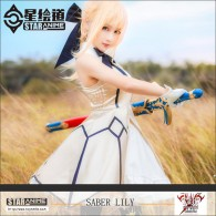 Saber Lily Cosplay