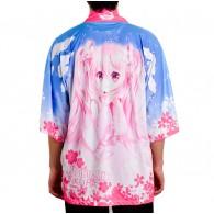 เสื้อคลุมยูกาตะ Sakura Miku