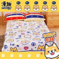 ผ้าห่ม Shiba Inu