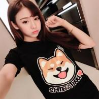 เสื้อยืด Shiba inu (แบบที่ 1)