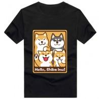 เสื้อยืด Shiba inu (แบบที่ 2)