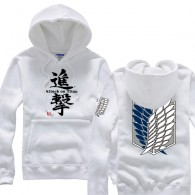 เสื้อฮู้ดดี้ Titan (White)