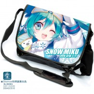 กระเป๋าสะพายข้าง Snow Miku 2016