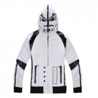 เสื้อกันหนาวมีฮู้ด Stormtrooper (ขาว)