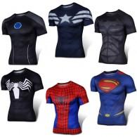 เสื้อรัดกล้าม Super Hero