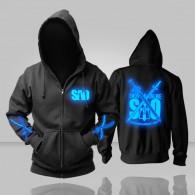 เสื้อกันหนาวมีฮู้ด Sword Art Online เรืองแสง (มี 2 แบบ)