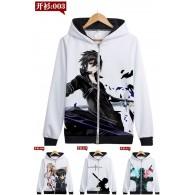 เสื้อกันหนาวฮู้ด Sword Art Online (แบบซิป) (มี17แบบ)