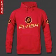 เสื้อฮู้ดดี้ The Flash (แดง)