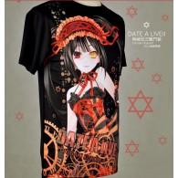 เสื้อยืด Tokisaki Kurumi