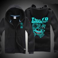 เสื้อกันหนาวมีฮูู้ด Tokyo ghoul เรืองแสง (มี4สี)
