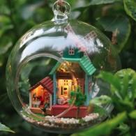 บ้านในบอลแก้ว Wind Fantasy