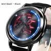 นาฬิกา Inori Touch screen LED watch (Black-มีไฟสีแดงตรงกลาง)