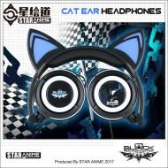 Black Rock Shooter cat ear headphone