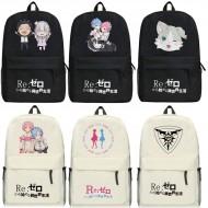 กระเป๋าสะพายหลัง Re - Zero (มี14แบบ)